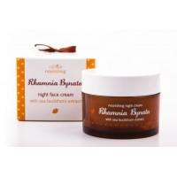 Нощен крем Rhamnia с масло от ОБЛЕПИХА