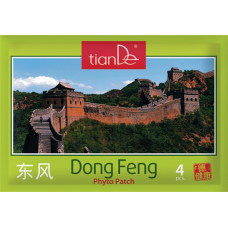 Фитопластир за тяло Донфенг, 4 бр от TianDe