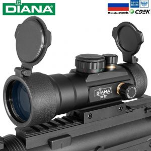 DIANA 3X42 2X40 3X44 Green Red Dot Sight Tactical Optics Riflescope