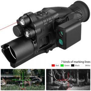 Night Vision Riflescope Monocular Wifi APP 200M Range