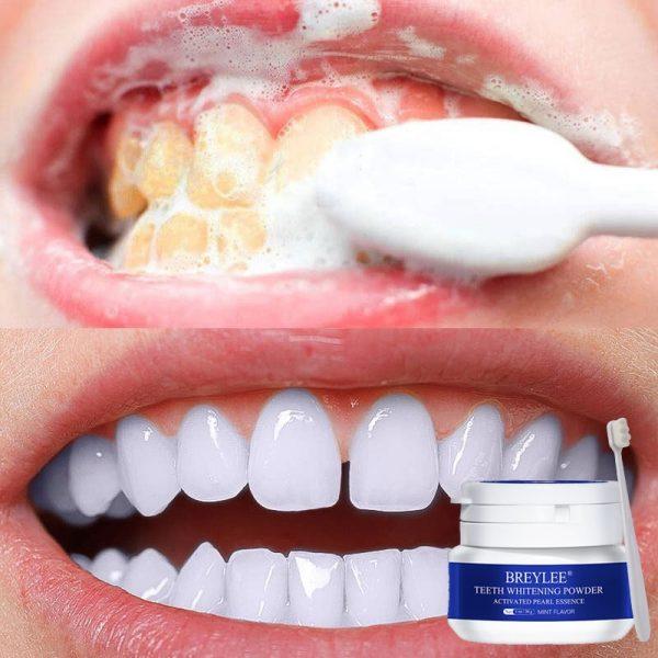 BREYLEE Pearl Essence Teeth Whitening Powder Natural Dental whitener