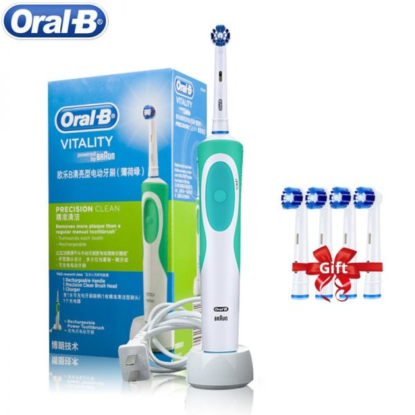 Oral B Electric Toothbrush 2D Rotary Vibration Clean Charging Tooth Brush