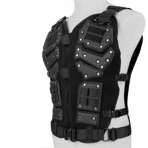 Adjustable Tactical Vest Airsoft Body Protective for Outdoor activities