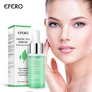 EFERO Green Tea Tree Face Serum - Antiaging, oil-control, whitening