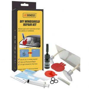 Automotive Glass Repair Kit Quick Fix DIY Windshield